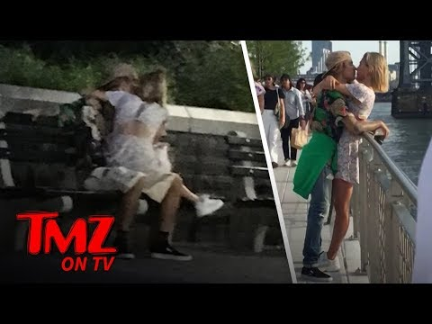 Justin Bieber and Hailey Baldwin Share Some Tongue | TMZ TV