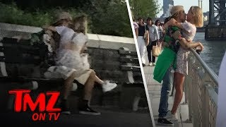 Justin Bieber and Hailey Baldwin Share Some Tongue | TMZ TV