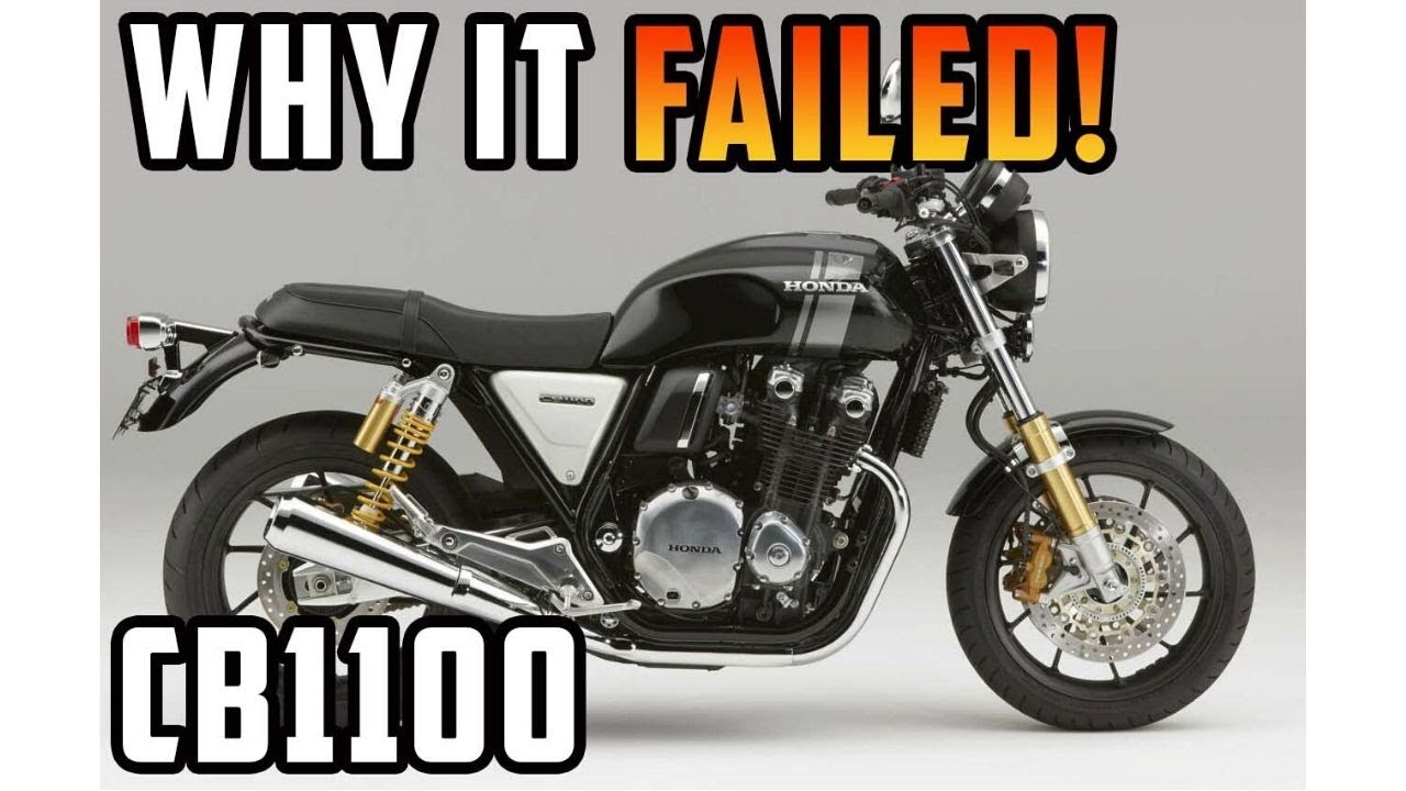 Here's Why The Honda CB1100 was a MASSIVE Failure...