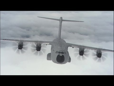 Airbus Defence and Space - A400M Heavy Airlifter Delivery To The Point Of Need [1080p]