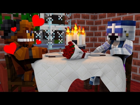 BALLORA DATE NIGHT! - Minecraft FNAF SISTER LOCATION ROLEPLAY (Minecraft Roleplay)