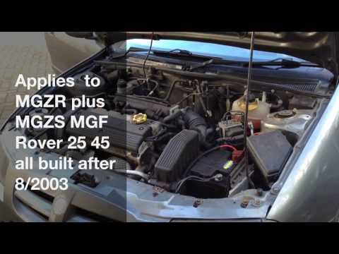 how to fix mg rover electrical problems - pektron relay fault - 8/2003 on -  youtube