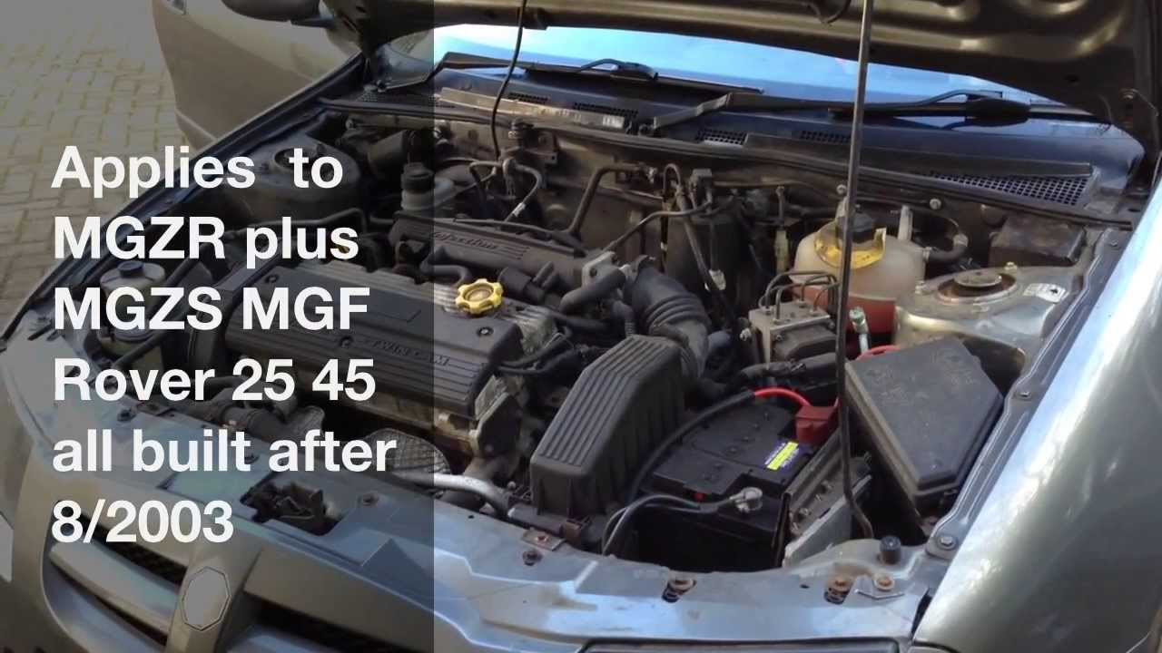 Land Rover Discovery 2 Wiring Diagram Electric Motor Control How To Fix Mg Electrical Problems - Pektron Relay Fault 8/2003 On Youtube
