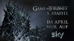 Game of Thrones Staffel 5 zeitgleich zum US-Start bei Sky!