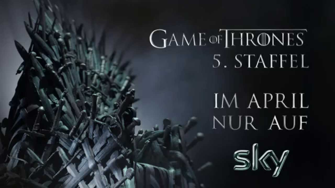 game of thrones 5 staffel start