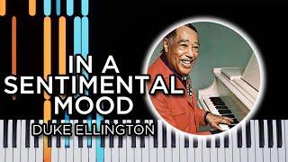 In A Sentimental Mood (Duke Ellington) - Piano Tutorial
