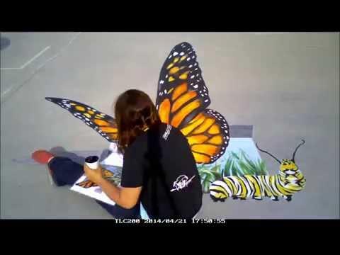 3D monarch at the Monarch School