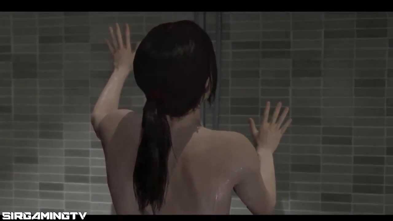 3d beyond two souls games shower all naked uncensored 1