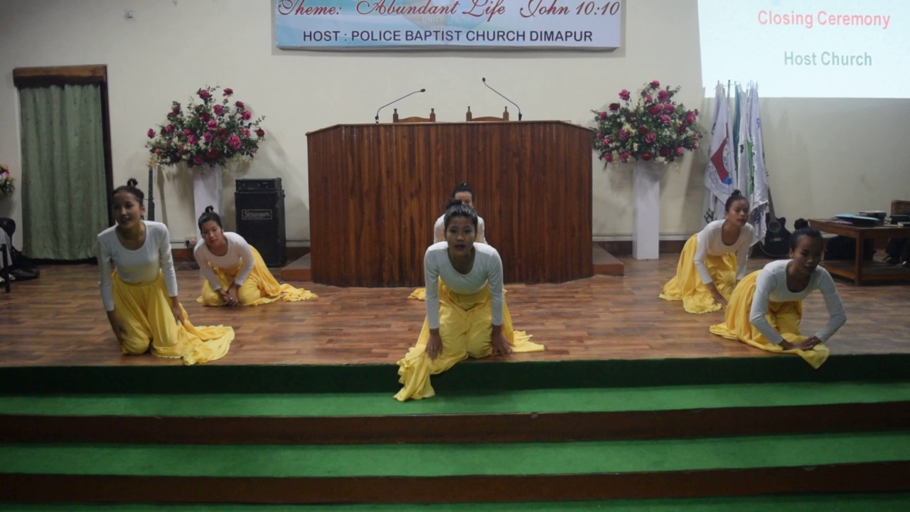 Police Baptist Church performing Closing Ceremony