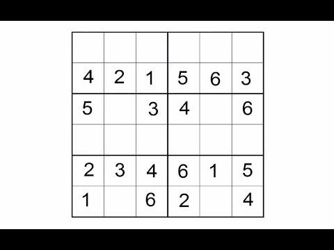 Как разгадывать головоломки Судоку
