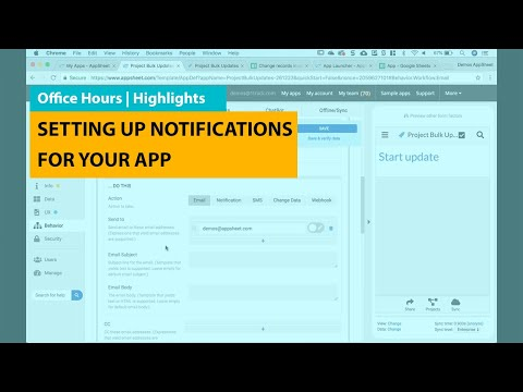 Setting Up Notifications For Your App | Office Hours