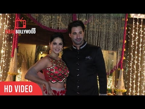 Sunny Leone And Daniel Weber At Aamir...