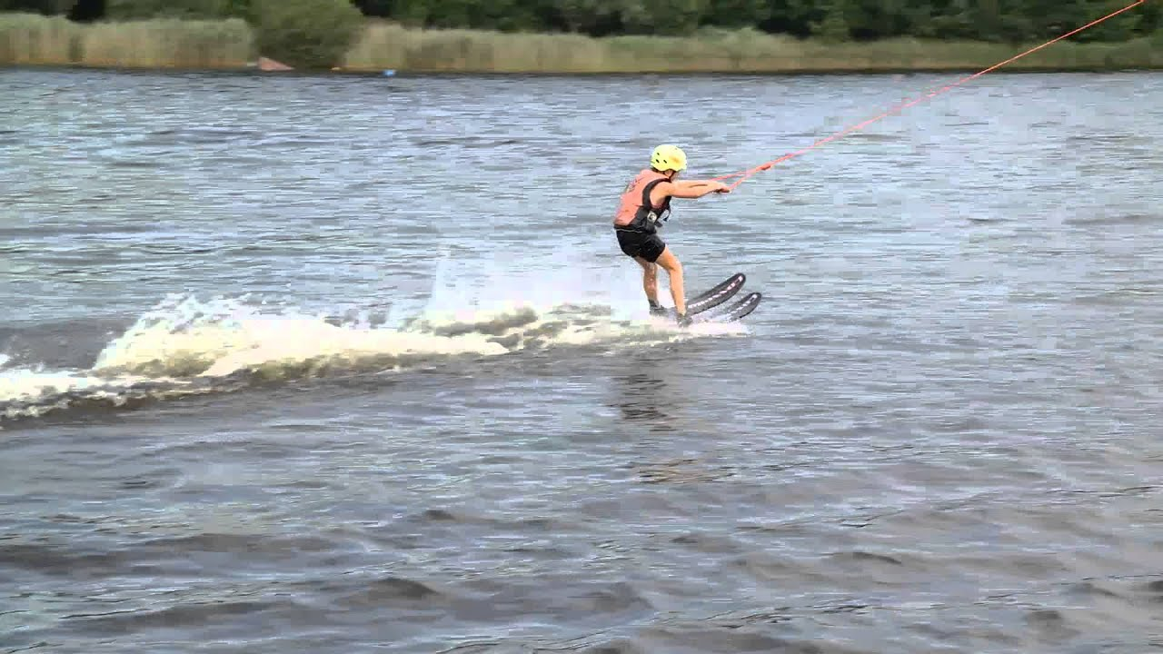 Waterskiën Harkstede - YouTube