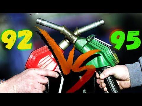 Бензин АИ92 лучше чем АИ95? Реальный ТЕСТ.