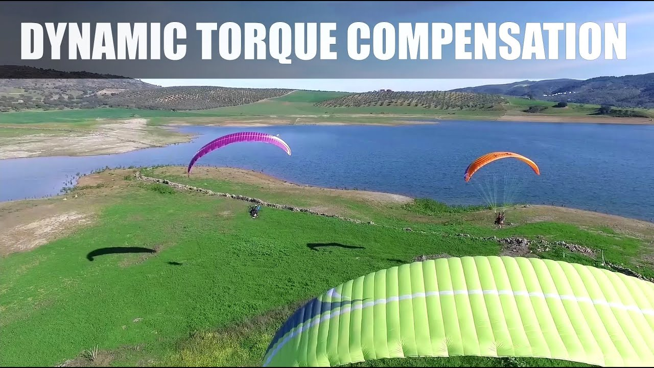 Dynamic torque compensation SCOUT Paramotors - SCOUT paramotor