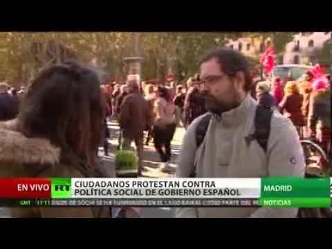 Daily News 23 N  Setenta protestas contra los recortes recorren España este fin de semana