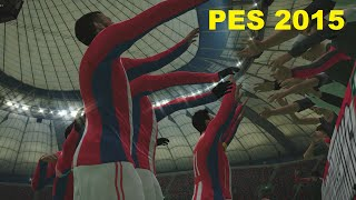 PES 2015 Gameplay - Arsenal vs Southampton HD (PC PS4)