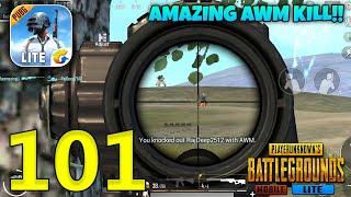 Amazing AWM Kill | PUBG Mobile Lite Gameplay