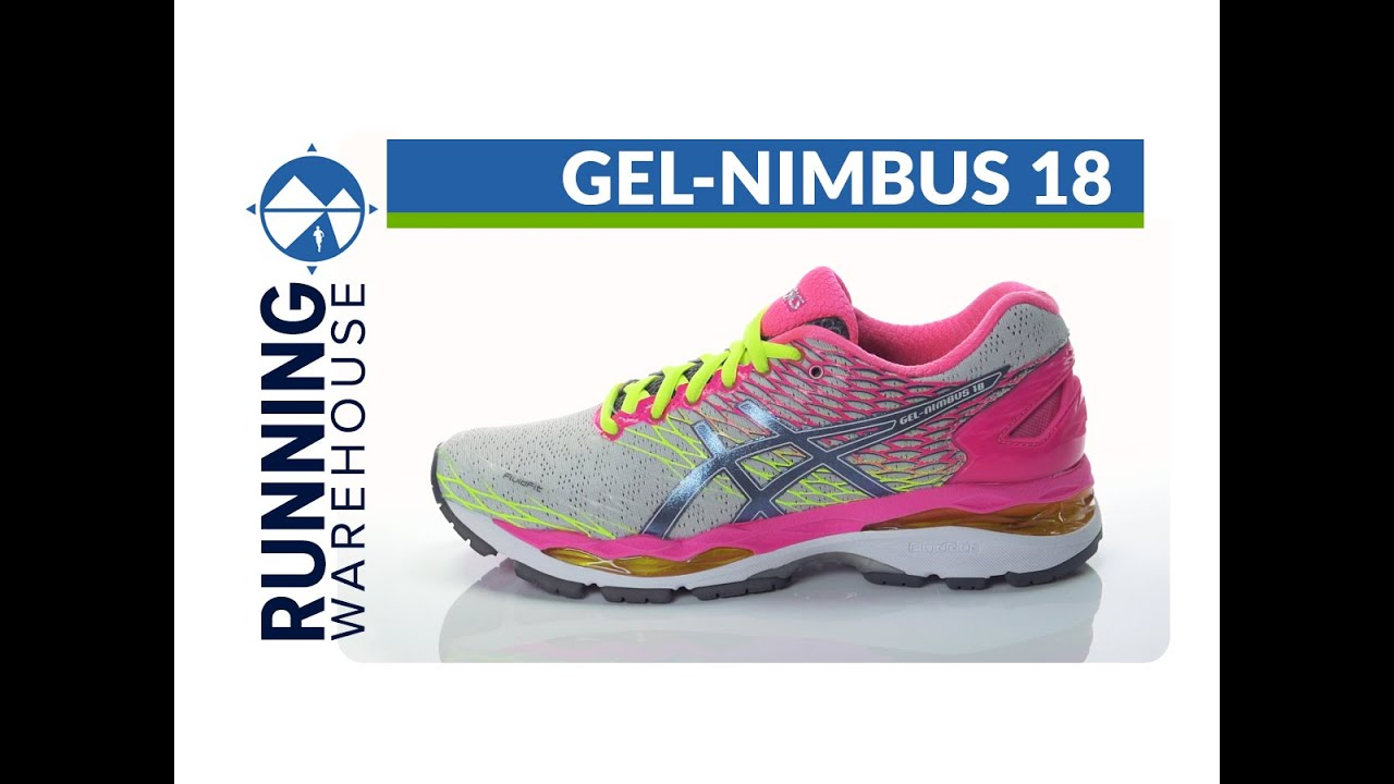 Asics Gel-Nimbus 18 for women