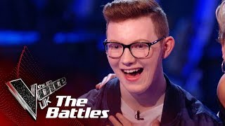 will.i.am Steals Callum Butterworth | The Battles | The Voice UK 2019