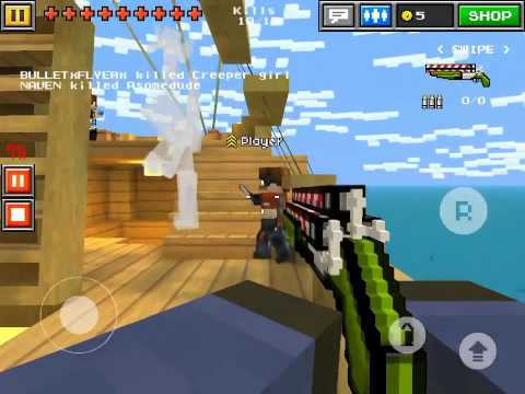 Pixel gun game replay I was snapping them up #3d #shooter