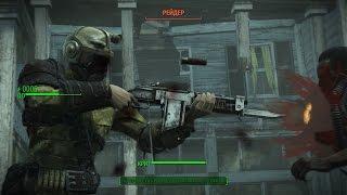 Боевой карабин в Fallout 4 - лучшее оружие против гулей