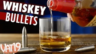 Whiskey Bullets eliminate watered-down drinks