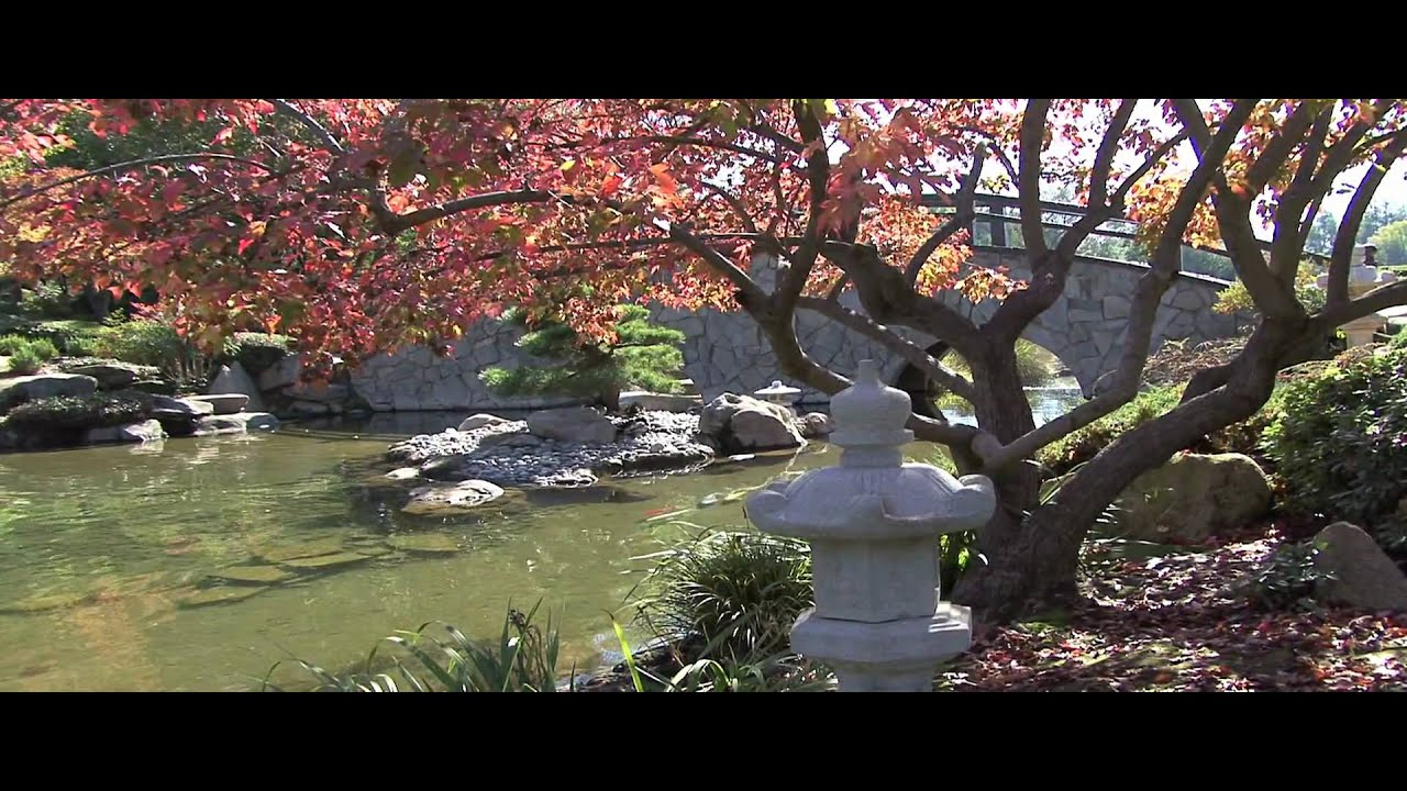 Fresno Shinzen Japanese Garden Youtube