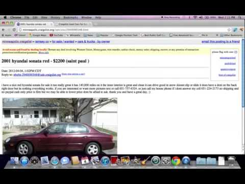 Craigslist Minneapolis MN Used Cars and Trucks with Ford ...