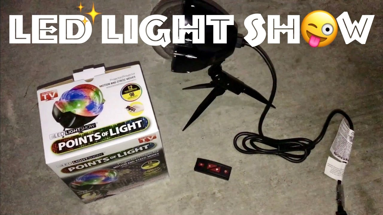 🔶Points of Light LED Display Review as Seen on TV, Amazon, Home ...