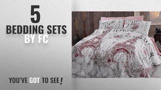 Top 10 Fc Bedding Sets [2018]: Romantica, Paris Eiffel Tower Themed % 100 Cotton Quilt Duvet Cover