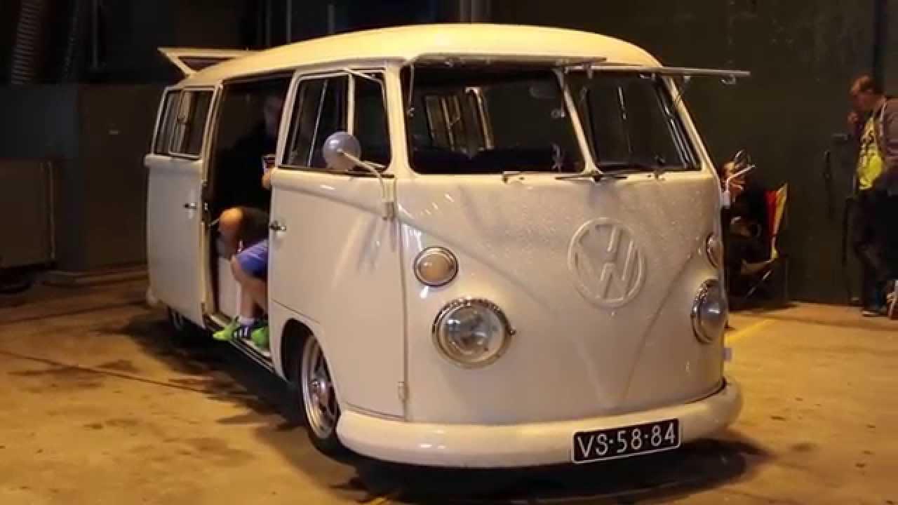 1966 Vw Type2 T1 2 Slide Doors Weeze 2015 Youtube