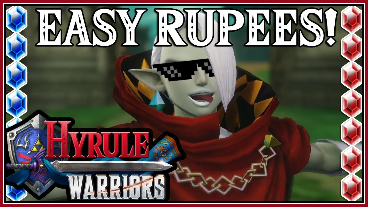 hyrule warriors definitive edition infinite rupee glitch