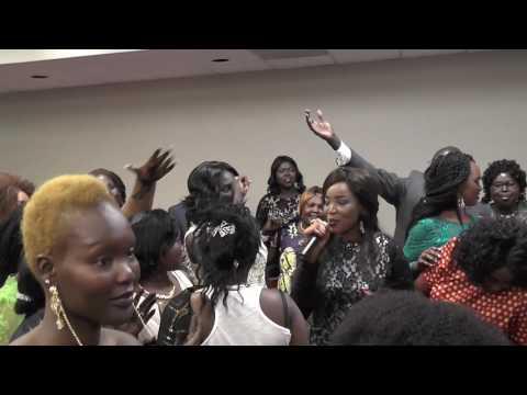 Akon Buoi women organization fundraising Kansas May 28, 2016