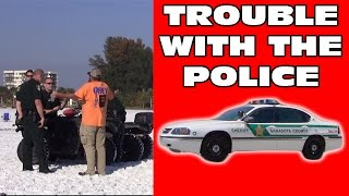 Trouble With Police at Siesta Key Beach & SALVATION | Spring Break 2015 | Kerrigan Skelly