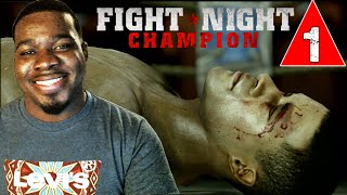 Fight Night Champion Gameplay Walkthrough Part 1 - Intro - Lets Play Champion Mode