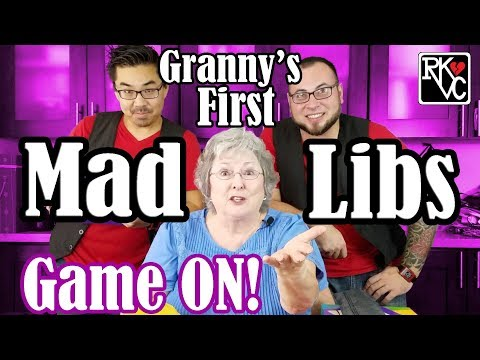 Mad Libs Giggles With RKVC