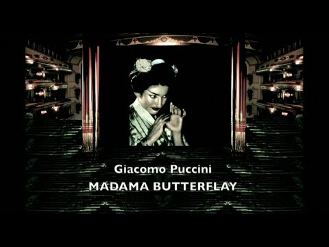 MARIA CALLAS - Madama Butterfly - Karajan - Studio 1955