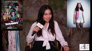 Marvel's Runaways Interview with Allegra Acosta