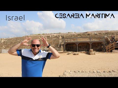 O Palácio de Pôncio Pilatos (Cesareia Marítima - Israel) - Pr Lobo