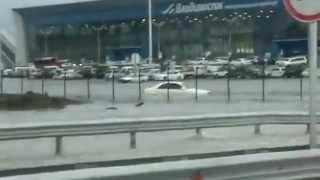 Аэропорт Владивостока затопило