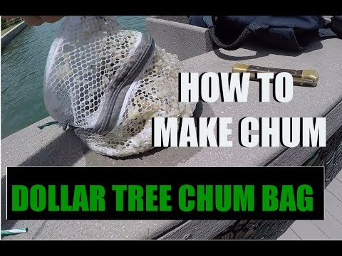How To Make Fish Chum With Dollar Tree Mesh Laundry Bag