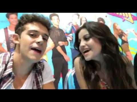 Karol Sevilla en firma de discos Soy Luna en Lima Perú|Stories|Fans|18*04*17|Noticiero Karol Sevilla