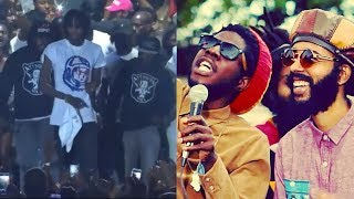Alkaline Friends Are BADMAN | Chronixx And Proteje  Did It Again