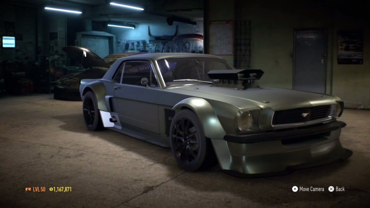 Need for speed 2015 ford mustang 1965 1237 hp build gameplay
