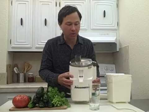 How To Use The Juiceman Ii Juicer Instructions Youtube