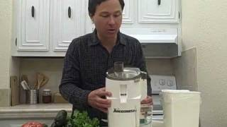 How to Use the Juiceman II Juicer Instructions