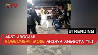 Aksi Arogan Rombongan Moge Aniaya 2 TNI di Bukittinggi - BIS 31/10