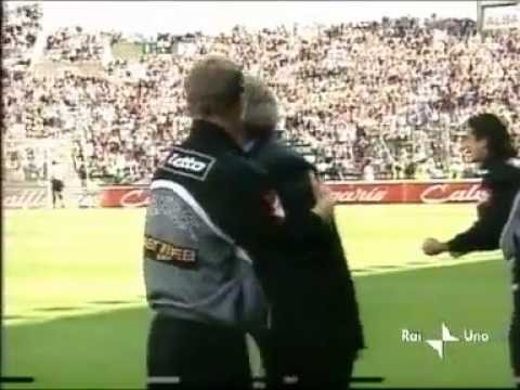 Udinese - Juventus  0-2 (05.05.2002) 17a Ritorno Serie A (Servizio - 90o Minuto).