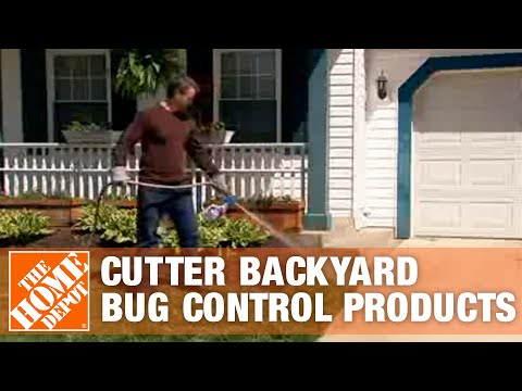 Cutter Backyard Bug Control Products The Home Depot